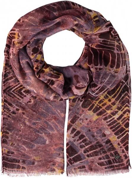 Schal mit Grafik-Print aus Polyester
