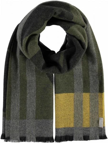 Schal mit Grafik-Design aus reinem Kaschmir - Made in Germany