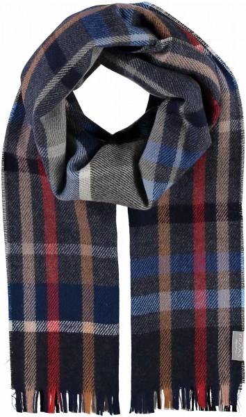 Schal mit Karo-Design aus reiner Schurwolle - Made in Germany