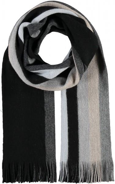 Gestreifter Schal in Wollmischung - Made in Germany