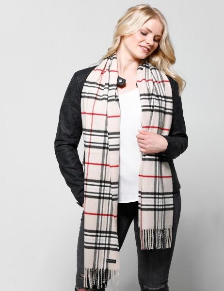 Cashmink®-Schal mit Karomuster - Made in Germany