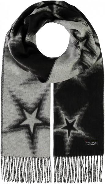 Cashmink®-Schal im Stern-Design - Made in Germany
