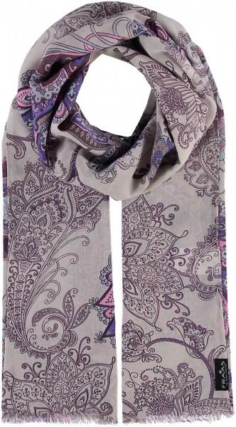 Schal mit Paisley-Print aus reiner Baumwolle