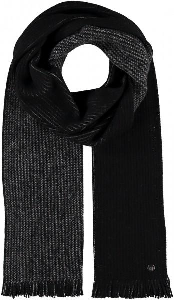 Schal mit Doubleface-Design aus reiner Wolle