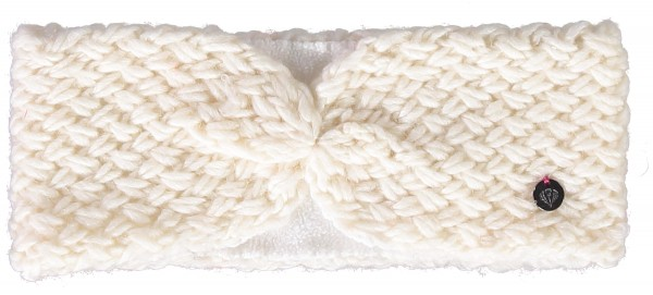 Knitted headband in polyacrylic blend