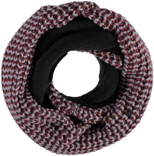 Knitted snood made in polyamide blend