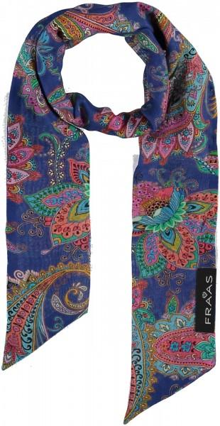 Schal mit Paisley-Print in Baumwollmischung