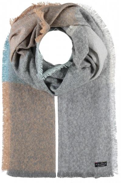 Cashmink®-Stola im Karo-Design - Made in Germany