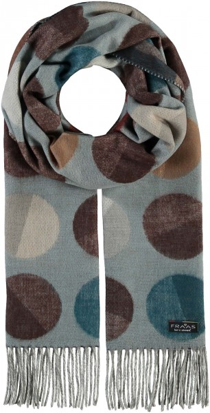 Cashmink®-Schal mit XXL Punkten - Made in Germany
