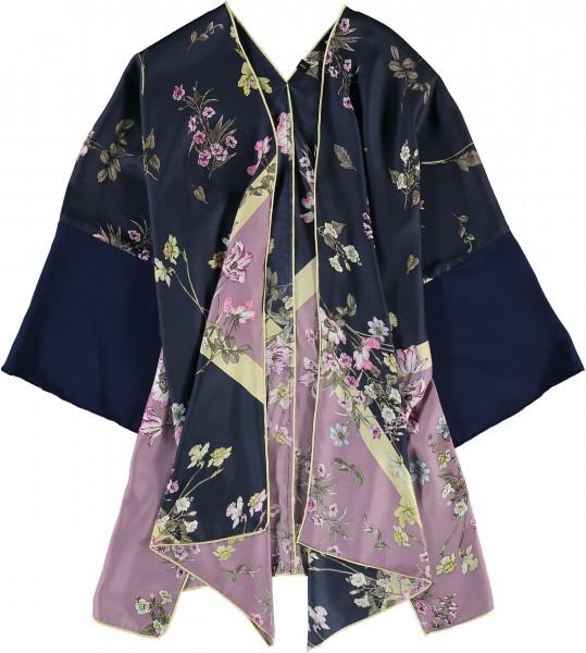 Limitierte Upcycling Edition - Kimono aus reiner Seide