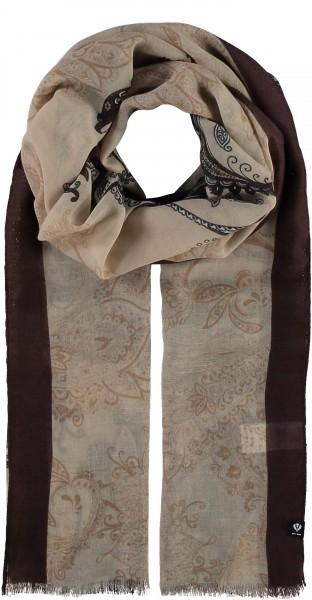 Paisley-Schal in Pastelltönen