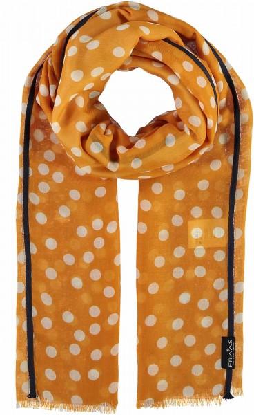 Schal mit Punkte-Print aus Polyester