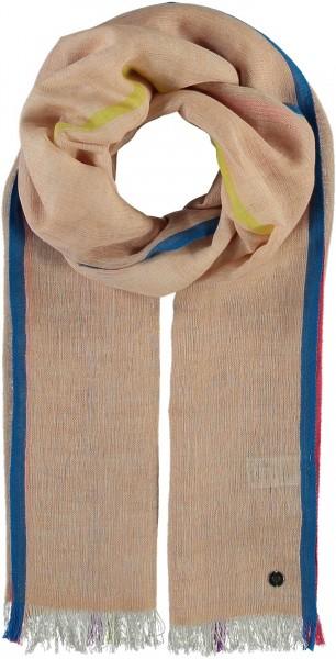 Schal in Baumwollmischung