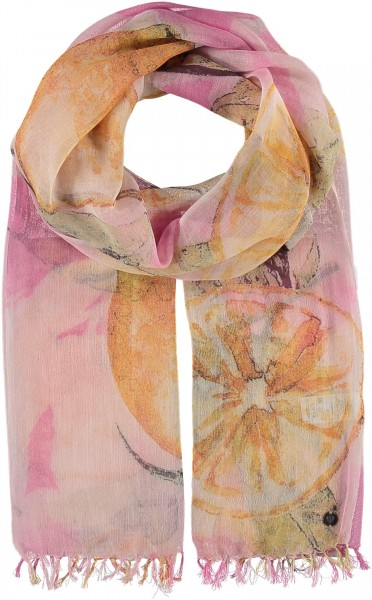 Scarf in a cotton blend