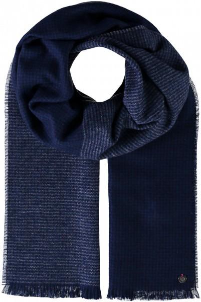 Doubleface Schal aus reinem Kaschmir - Made in Germany