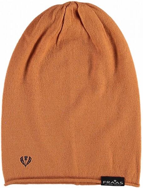 Knit beanie in a cashmere blend