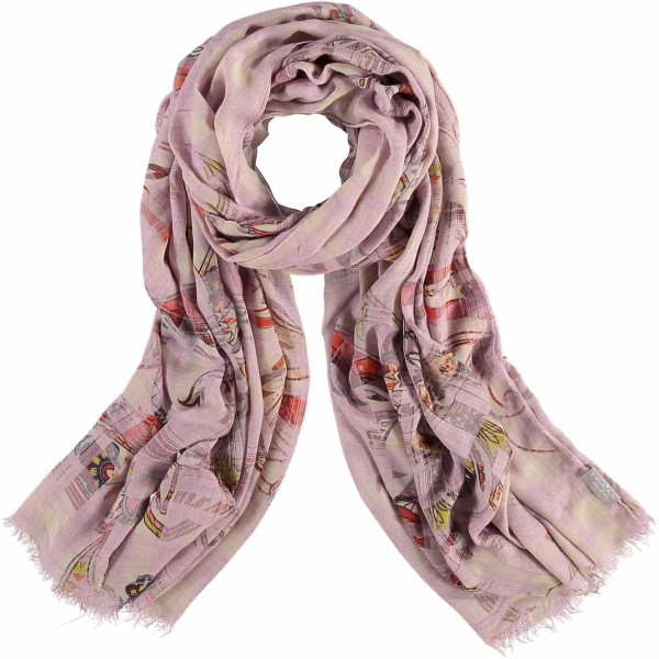 """Stola mit Paisley-Print in Modalmischung """"Made in Italy"""""""