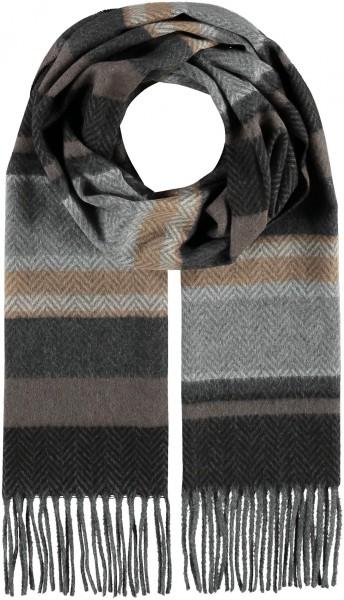 Cashmink®-Schal mit Blockstreifen - Made in Germany