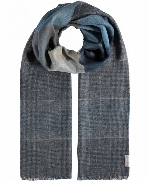 """Cashmink® scarf with double-face effect """"Made in Germany"""""""
