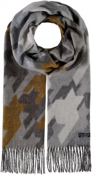 Cashmink®-Schal im Hahnentritt-Design - Made in Germany
