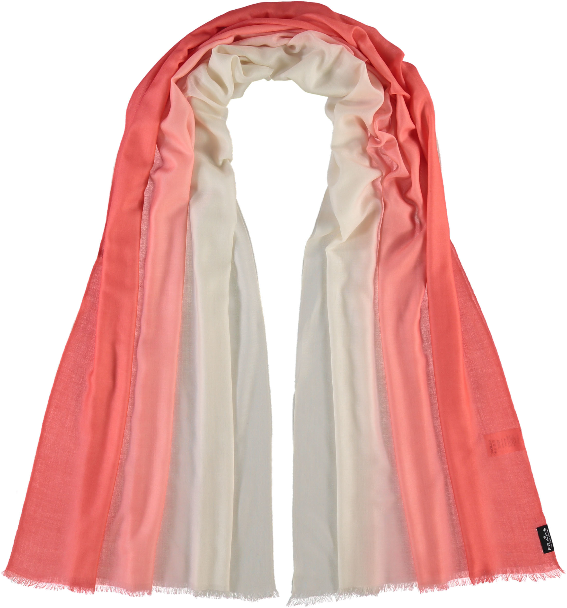 3d1a8c31530 Wool-blend scarf with ombre effect | FRAAS