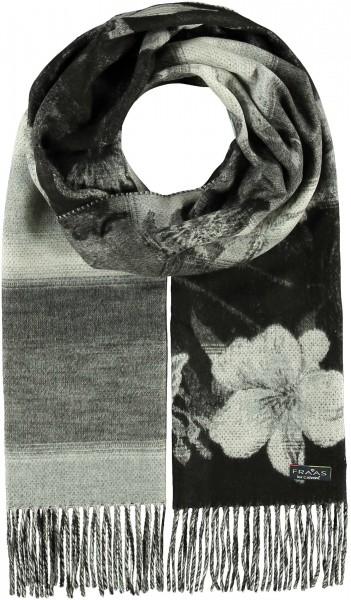 Cashmink®-Schal mit floralem Muster - Made in Germany