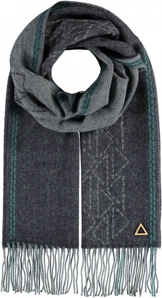 Scarf in wool blend - Made in Germany