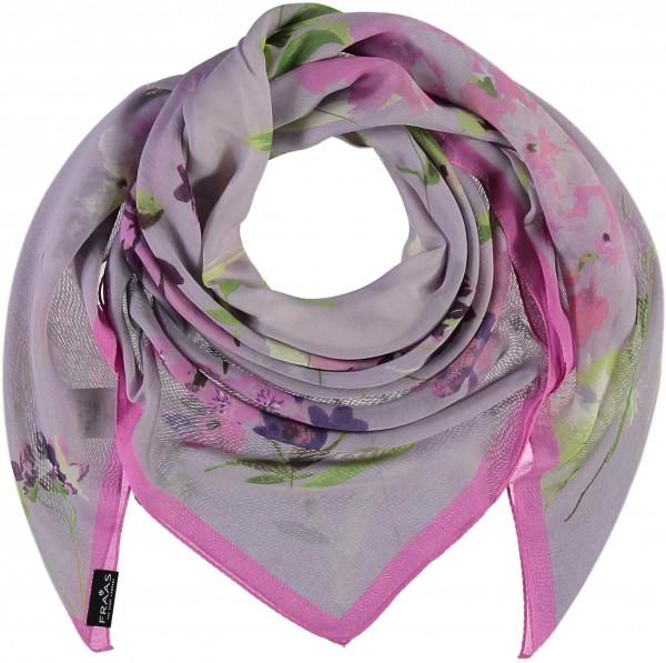 Tuch mit Floral-Print aus reinem Polyester