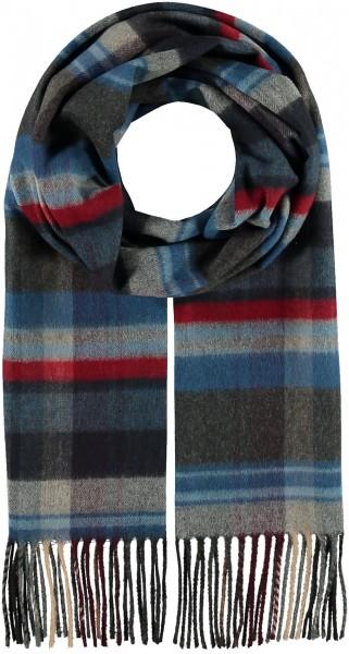 Karierter Cashmink®-Schal - Made in Germany