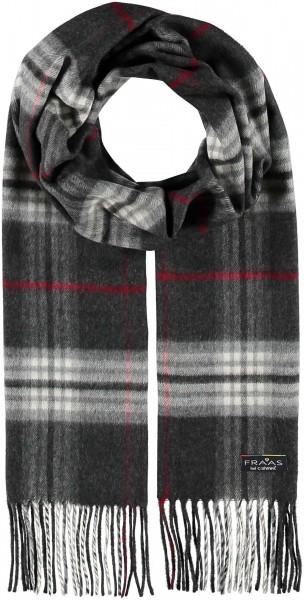 Cashmink®-Schal mit FRAAS Karo - Made in Germany