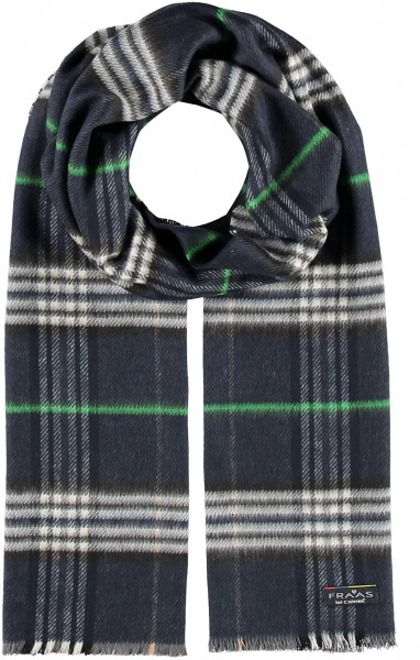 Cashmink® scarf with FRAAS Plaid - Made in Germany
