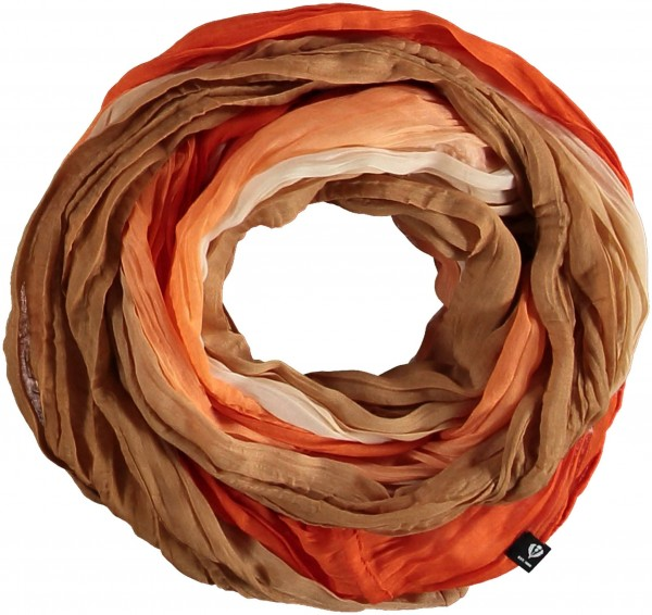 Snood with ombré effect