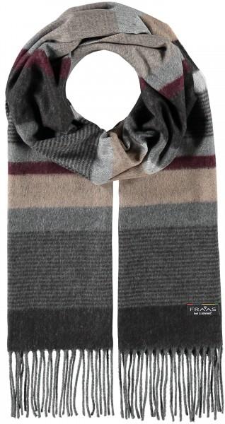 Cashmink®-Schal mit Streifen-Design - Made in Germany