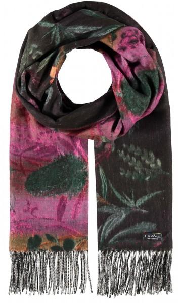 Cashmink®-Schal im Blumen-Design - Made in Germany