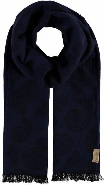 Schal mit Paisley-Design in Schurwollmischung