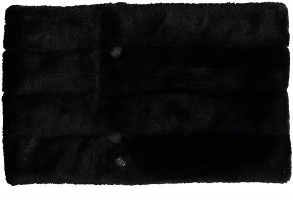 Puffer-Kragen mit Fake Fur