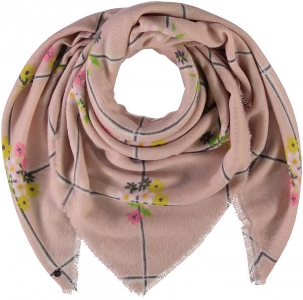 Tuch mit Blumen-Druck aus reinem Polyacryl