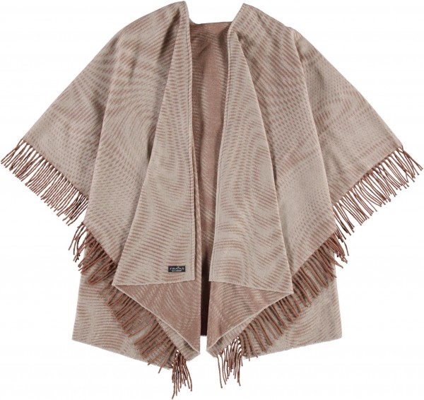 Sustainability Edition - Cashmink®-Poncho - Made in Germany