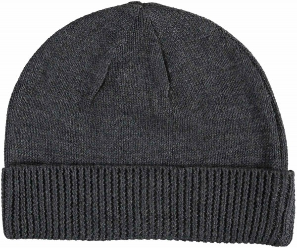 Knitted hat in wool blend