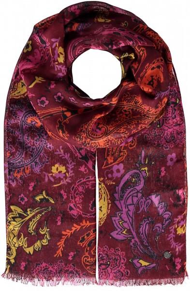 Schal aus Polyester mit Paisley-Druck