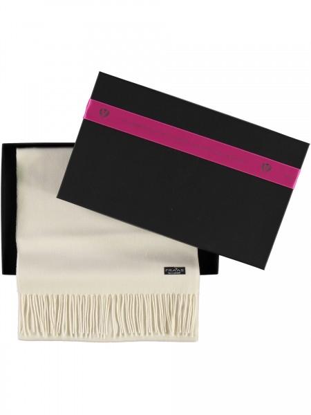 Geschenkbox: Cashmink®-Schal mit Fransen - Made in Germany