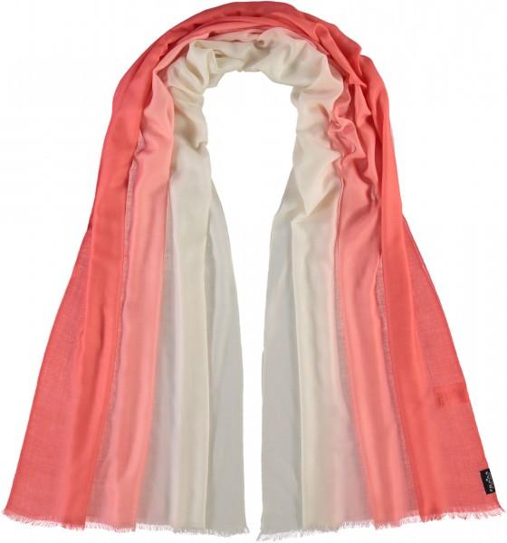Schal mit Ombré Effekt in Wollmischung