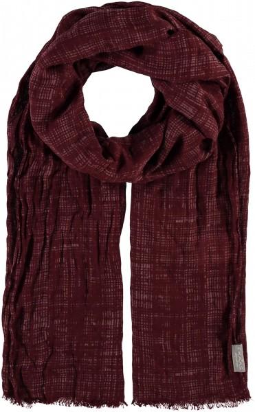 Schal mit Grafik-Print in Polyestermischung , Made in Italy