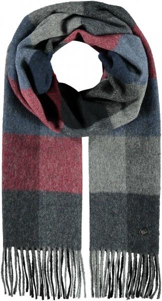 Schal mit Karo-Muster