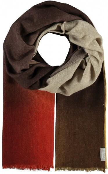Schal in Kaschmirmischung mit Ombré-Effekt - Made in Italy