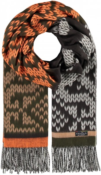 Cashmink®-Schal in Strickoptik - Made in Germany
