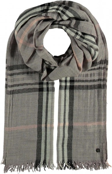 Weiche Stola in Wollmischung - The FRAAS Plaid