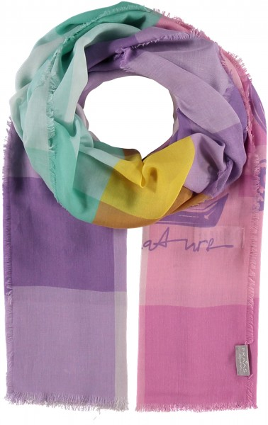 Stole in modal/cotton blend - Signature Collection