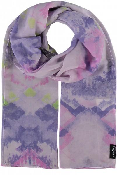 Schal mit Grafik-Print aus reinem Polyester