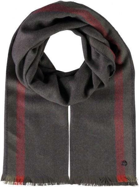 Schal mit Kanten-Druck aus Polyacryl
